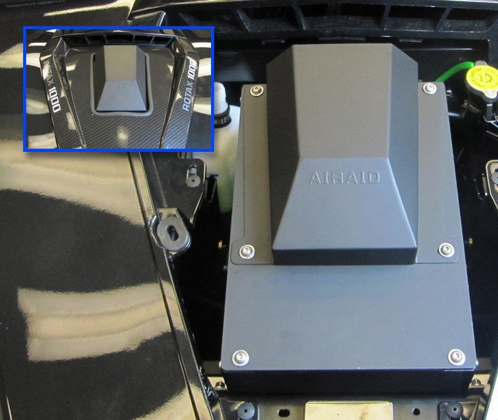 AIRAID complet air filter system for Can Am Commander