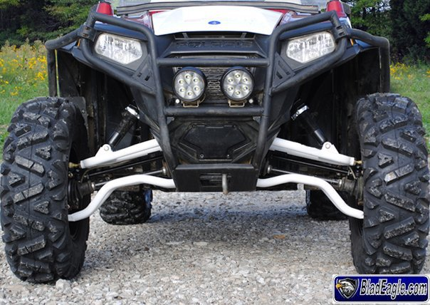 Kit triangles avant HD incurvés RZR 800 S