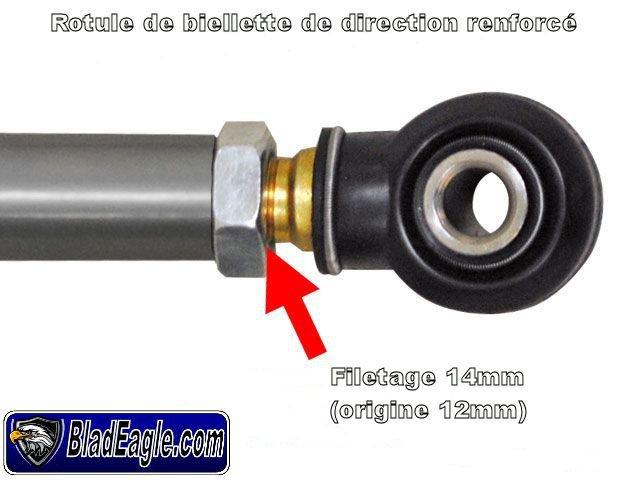 Kit crémaillère renforcé RZR 900XP