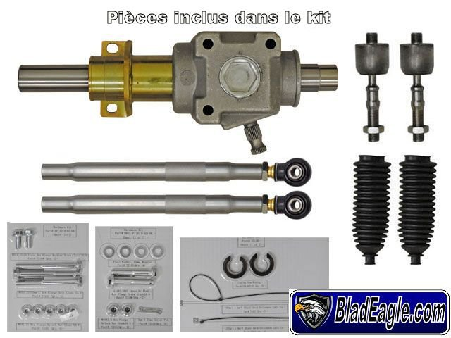 Heavy duty Rack and pinion RZR 900XP