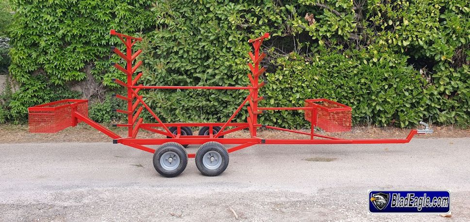 Large bars holder Trailer