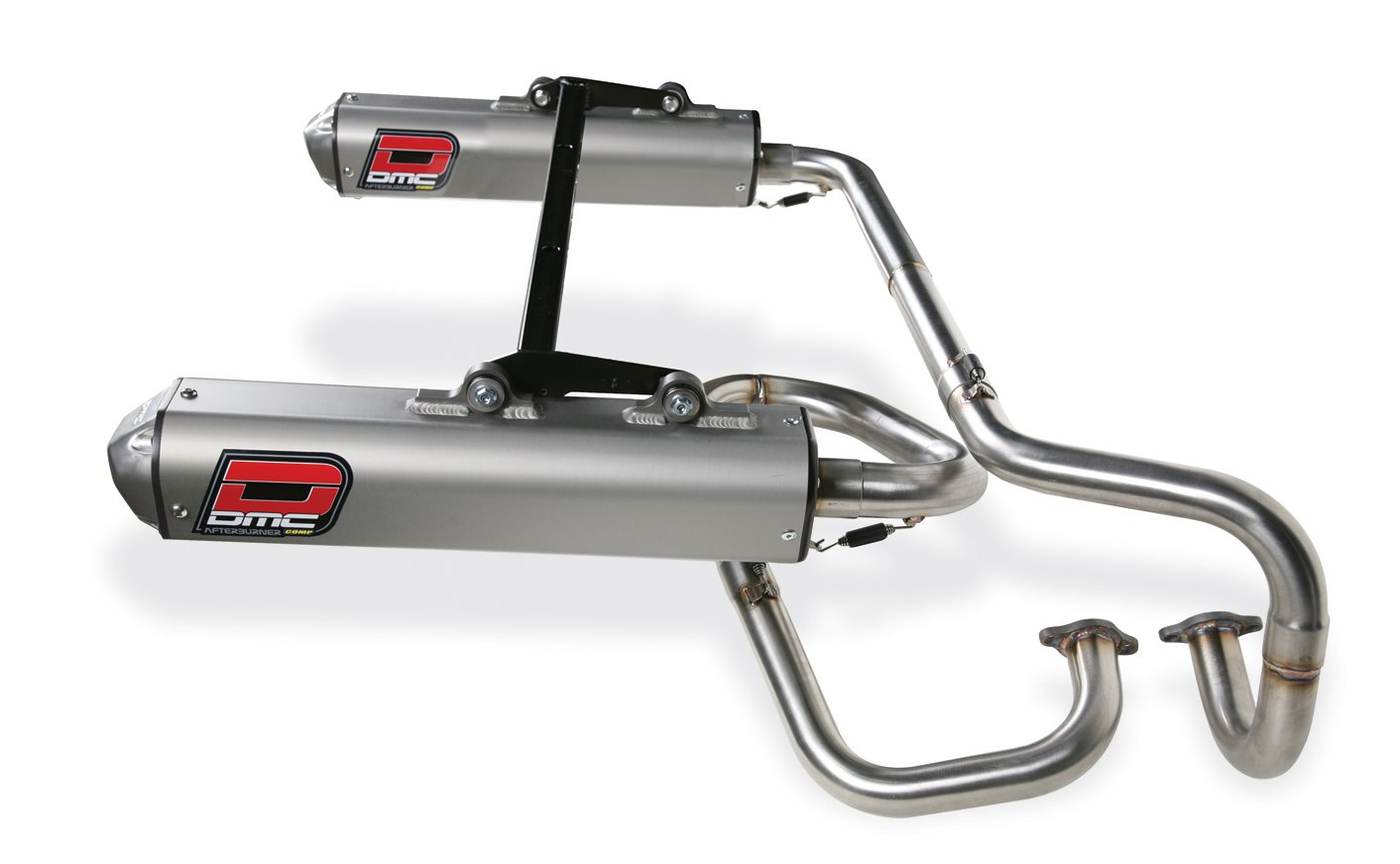 DMC Twin exhaust system for Polaris RZR S / RZR 4  09/2011