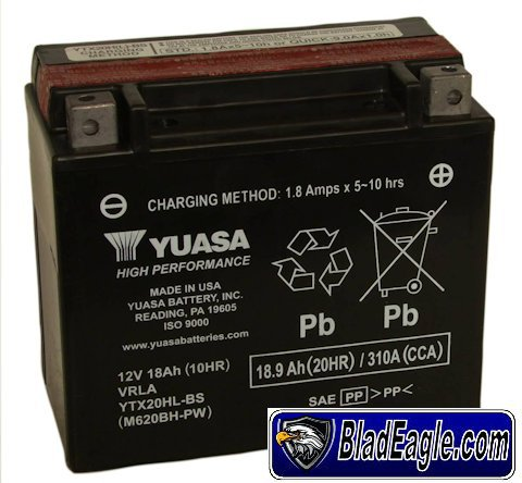 Battery 12 Volts 18 amps
